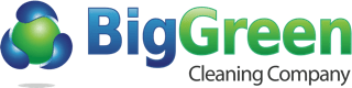BigGreen Cleaning Company : Janitorial, Commercial, Residential Cleaning Services in Santa Barbara, Goleta, Montecito, Summerland, Carpinteria Logo